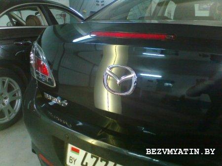 MAZDA 6 - после удаления вмятины на крышке багажника
