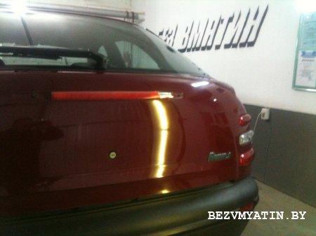 FIAT BRAVO - после удаления вмятины на крышке багажника