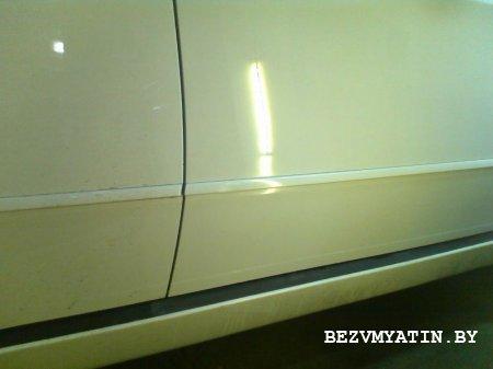 BMW X5 - после удаления вмятины на правой передней двери