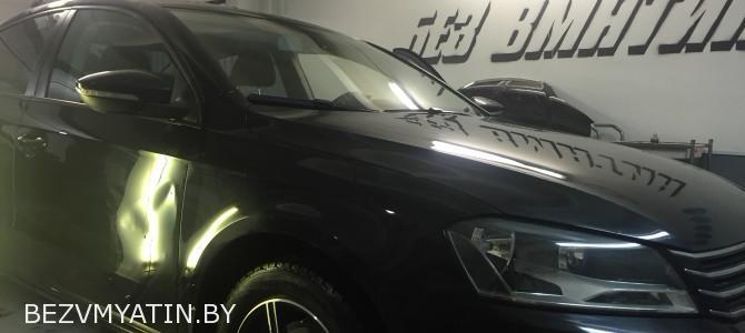 Volkswagen Passat — вмятина на передней двери