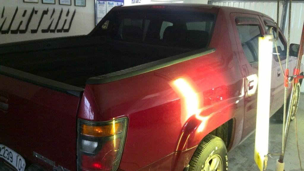 Хонда Риджлайн - после ремонта