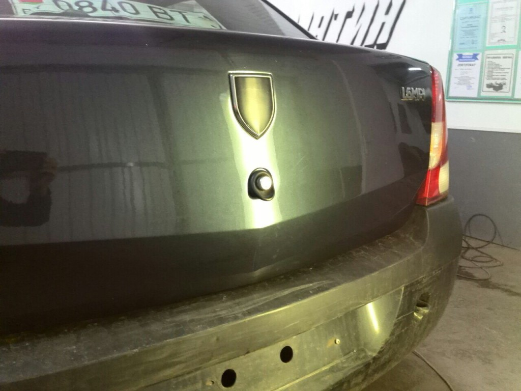 Dacia Logan - после ремонта