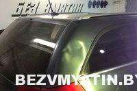 Opel Vectra — вмятина на задней правой стойке