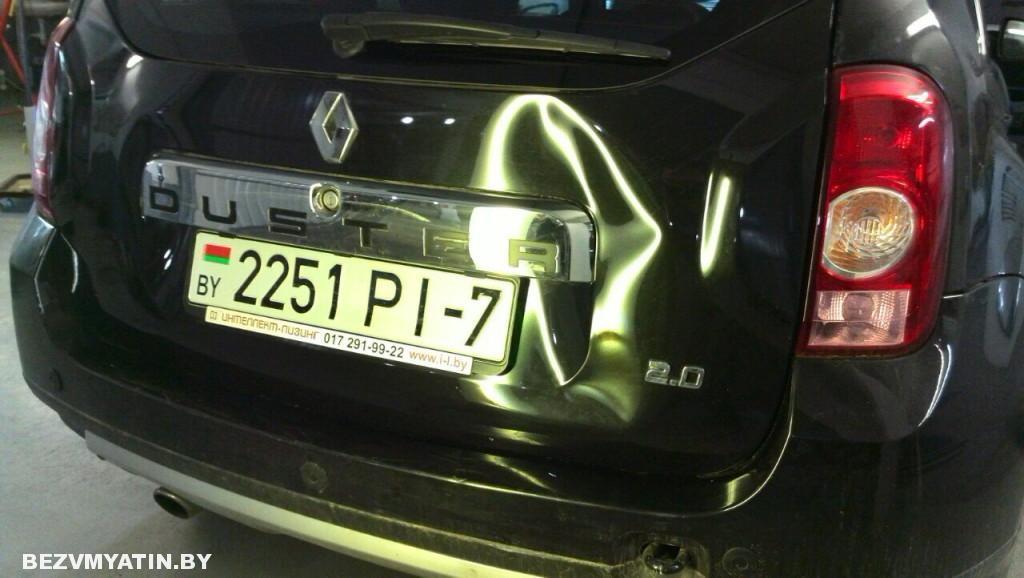 Renault Duster - до ремонта