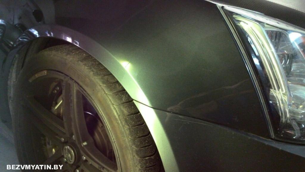 Cadillac CTS - после ремонта