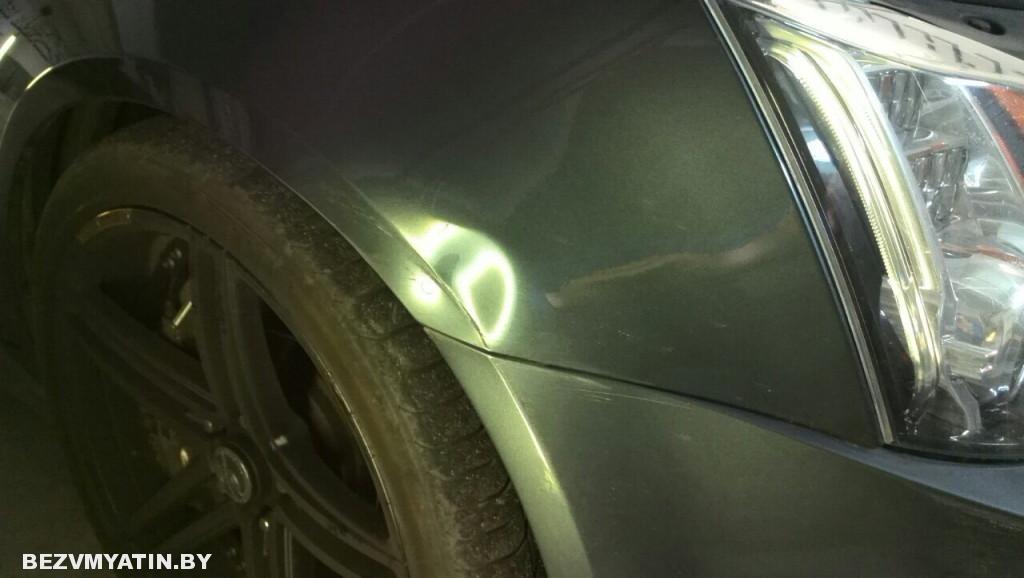Cadillac CTS - до ремонта