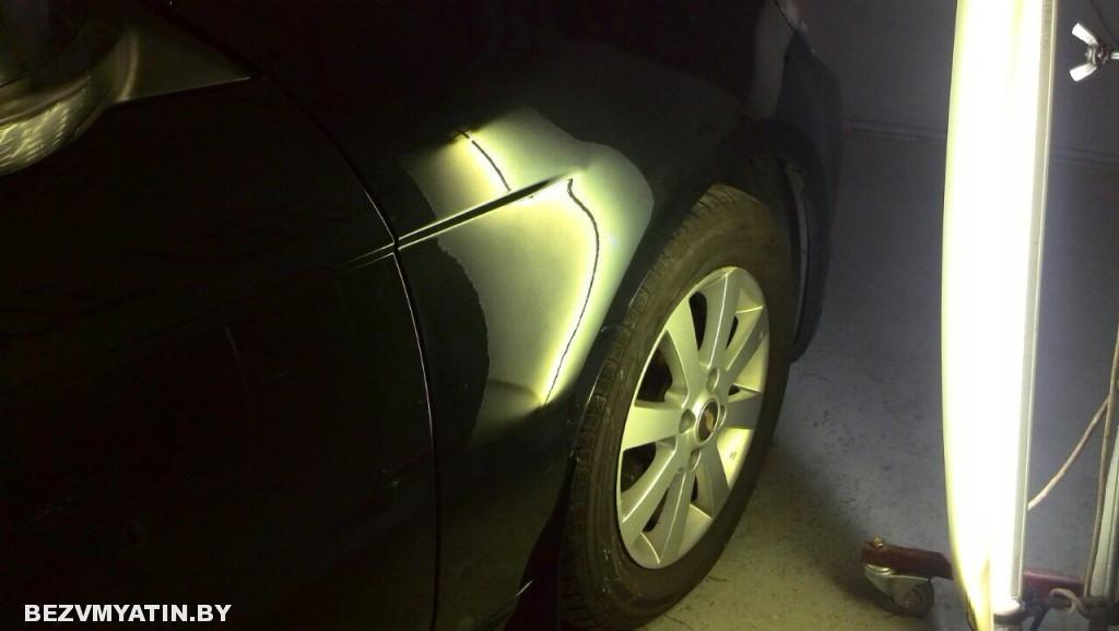 Chevrolet Epica - после выправления