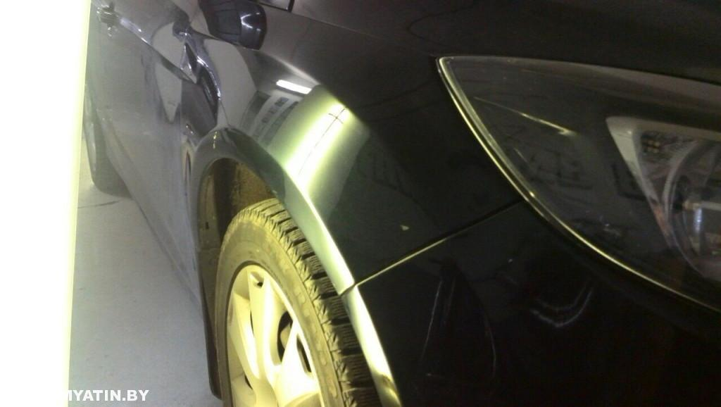 Ford Focus - вмятина после ремонта