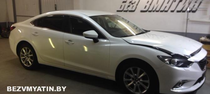 Mazda 6 — частичная оклейка антигравийной пленкой