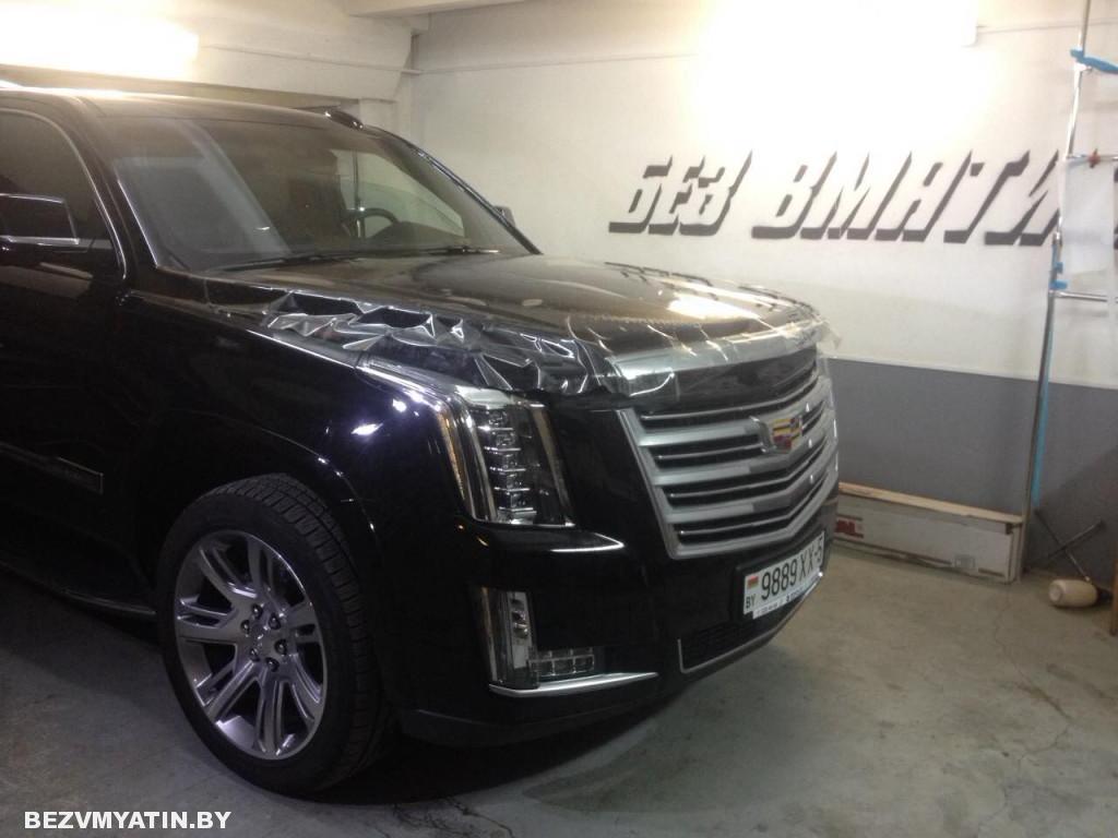 Cadillac Escalade процесс оклейки