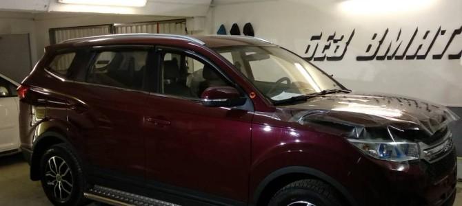 Оклейка бюджетных авто, Lifan May Way. Aнтигравийная пленка Oraguard 270