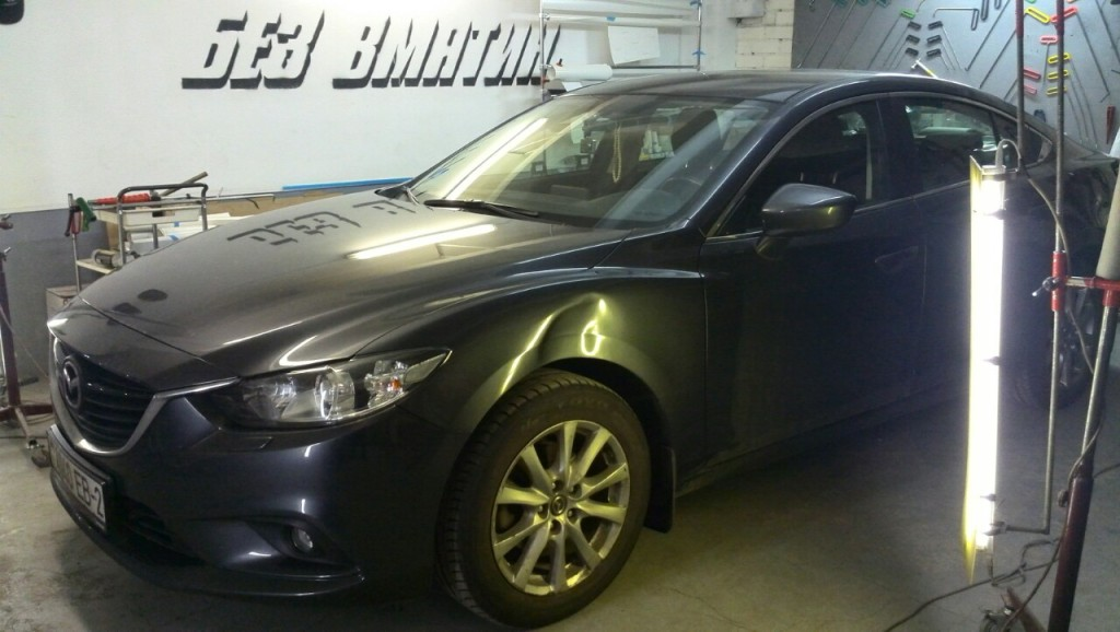 Mazda 6 - вмятина