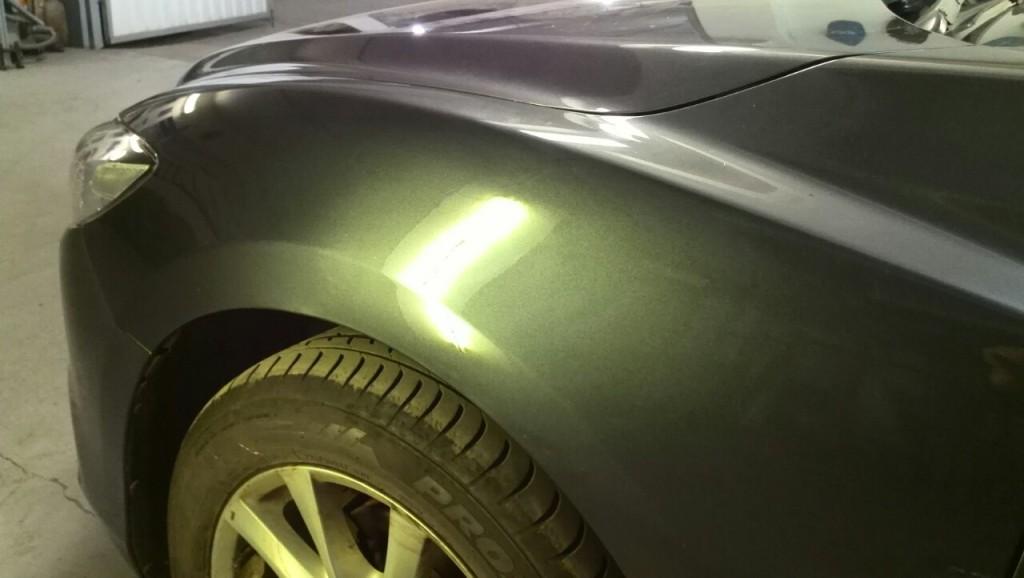Mazda 6 - вмятина после ремонта
