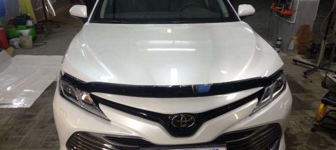 Toyota Camry — оклейка защитной пленкой.