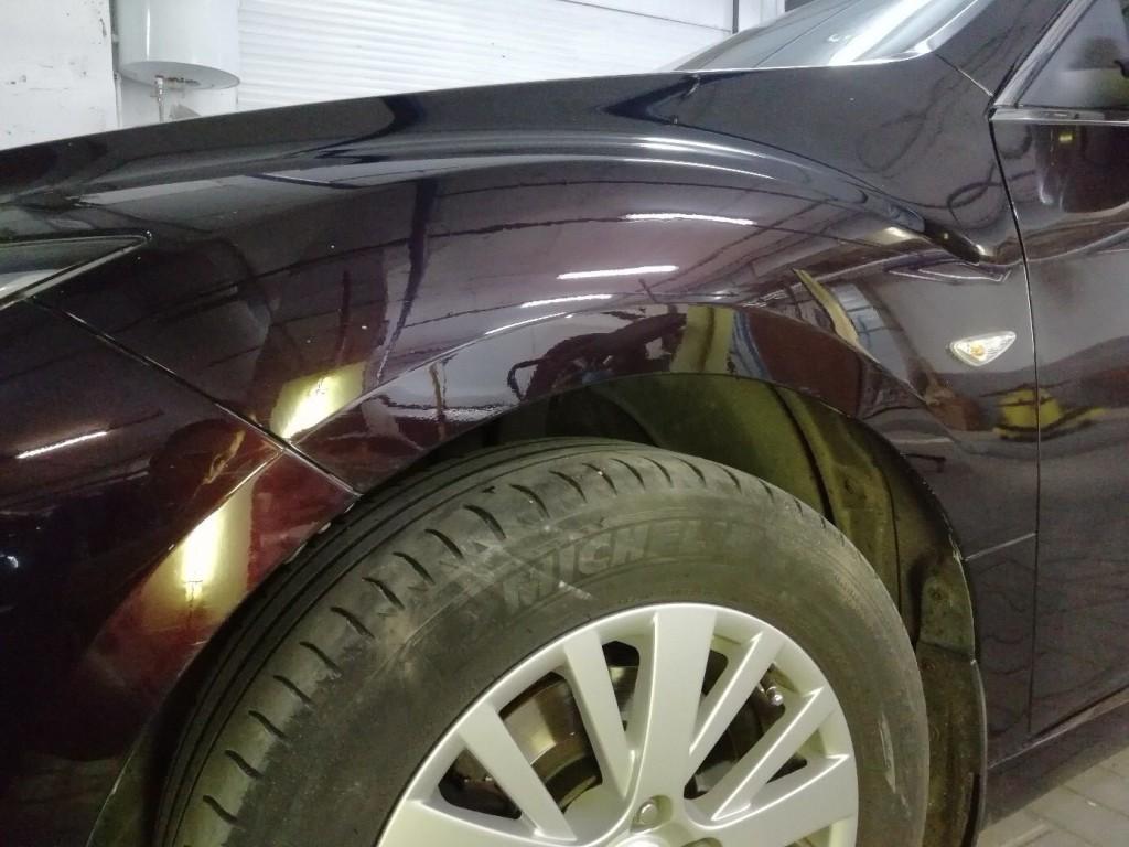 Mazda 6 - вмятина удалена