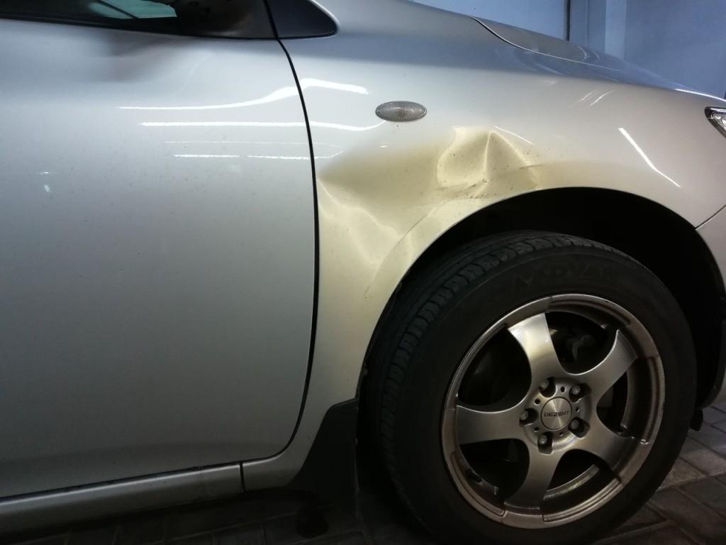 Toyota Corolla до ремонта