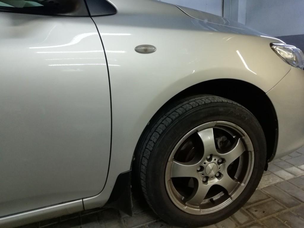 Toyota Corolla после ремонта