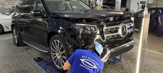 Mercedes-Benz, оклейка защитной полиуретановой пленкой Нexsis Bodyfense